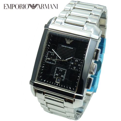 emporio armani herrenuhr chronograph ar0334 edelstahl armband uhr uhren neu. Black Bedroom Furniture Sets. Home Design Ideas