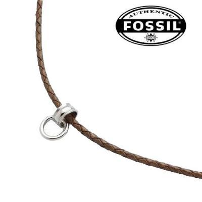 fossil kette lederband