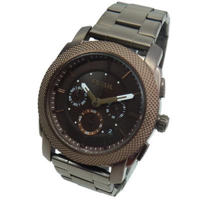 fossil herrenuhr chronograph fs4661 edelstahl armband uhr. Black Bedroom Furniture Sets. Home Design Ideas