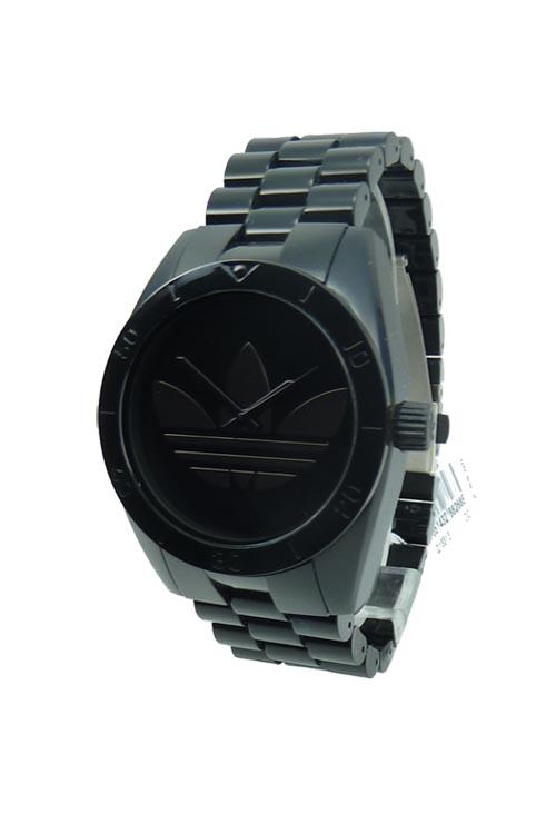 Adidas Hombre Plástico ADH2796 Santiago Negro Relojes de Marca 0620cd8e688
