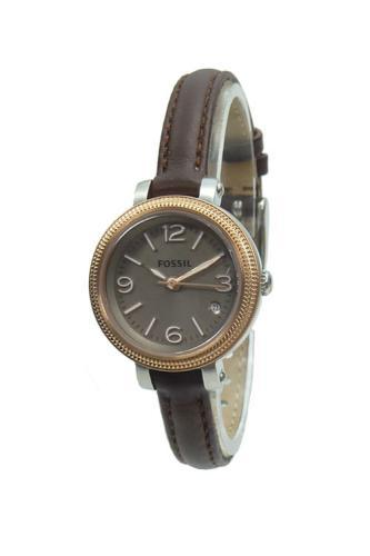 fossil damenuhr es3138 heather leder armband uhr braun. Black Bedroom Furniture Sets. Home Design Ideas