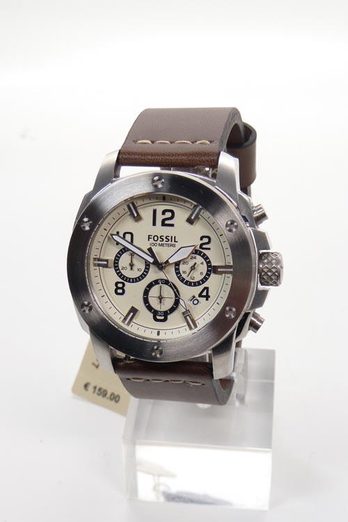 fossil uhr uhren herrenuhr chrono fs4929 braun armband. Black Bedroom Furniture Sets. Home Design Ideas
