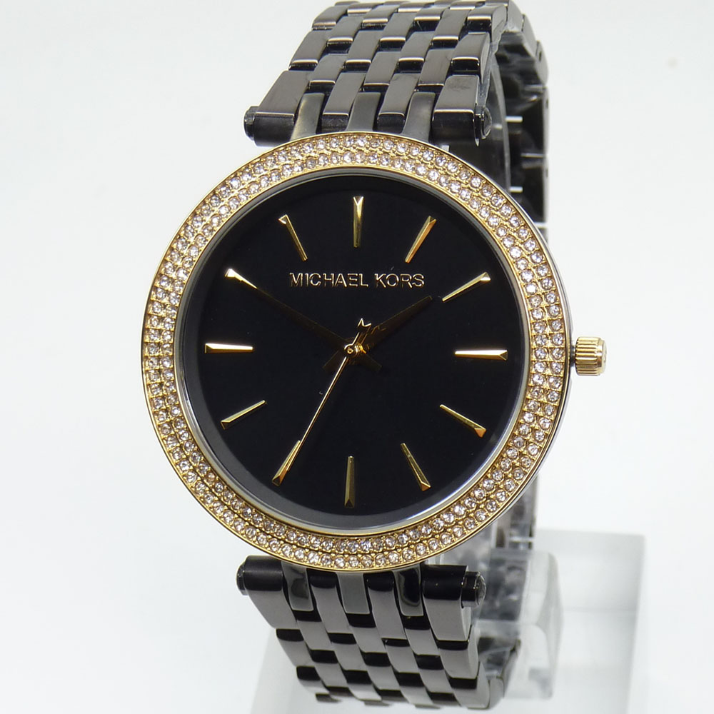 michael kors reloj relojes fantastico mk3322 darci negro. Black Bedroom Furniture Sets. Home Design Ideas