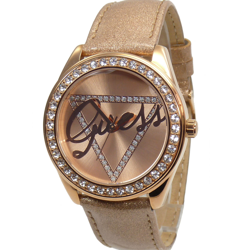 Guess Women'S Watch W0023L4 Time TO Give Rose Gold ...