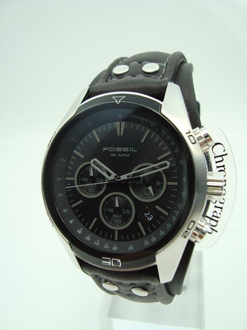 fossil uhr herrenuhr chronograph ch2586 sport leder. Black Bedroom Furniture Sets. Home Design Ideas