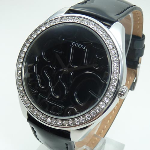 Guess Clock Watches Ladies Watch W 85098L4 Puffy G