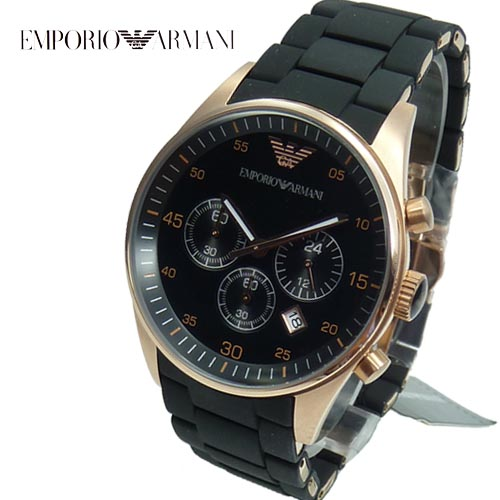 emporio armani herrenuhr chronograph statt 399 eur ar5905. Black Bedroom Furniture Sets. Home Design Ideas