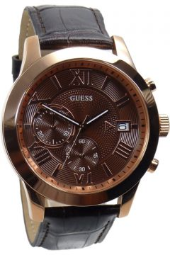 Guess Watch Watches Mens Watch Chronograph W0669G1 rose ...