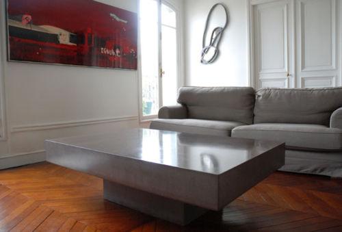 beton cir kit 3 5m couchtisch wohnzimmertisch betonoptik 22 57eur m ebay