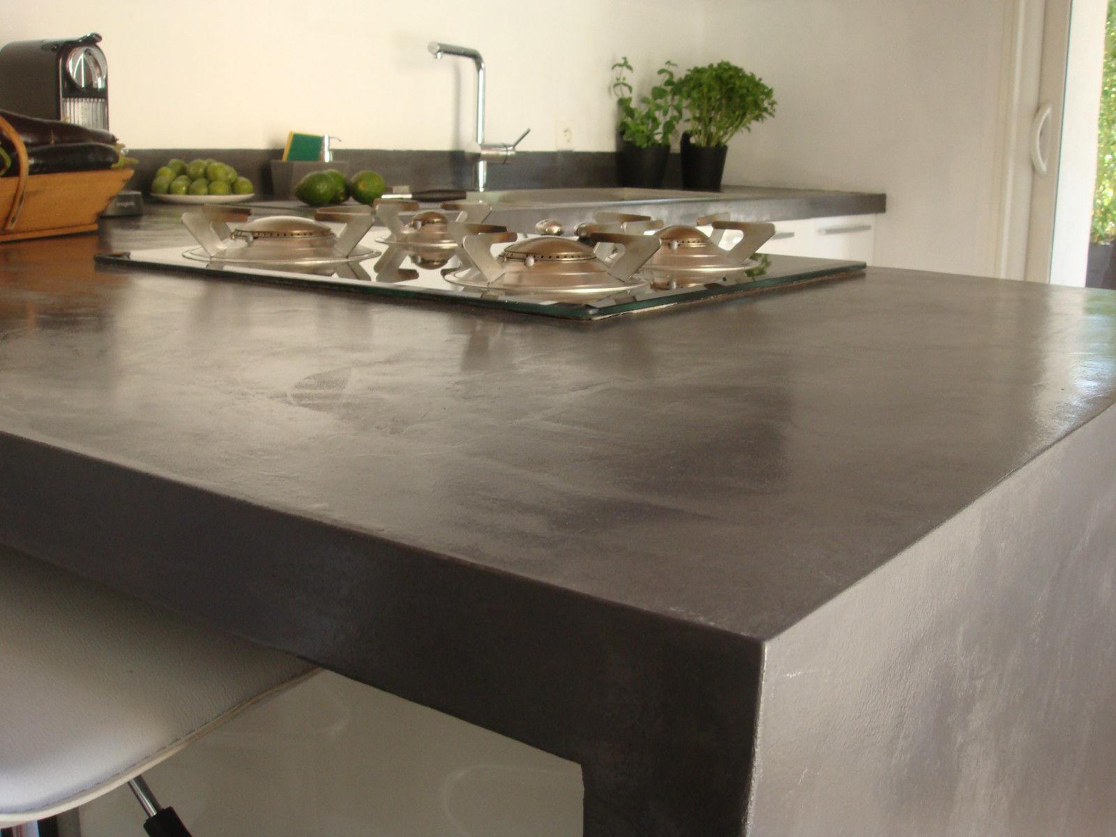 beton k chenarbeitsplatte. Black Bedroom Furniture Sets. Home Design Ideas