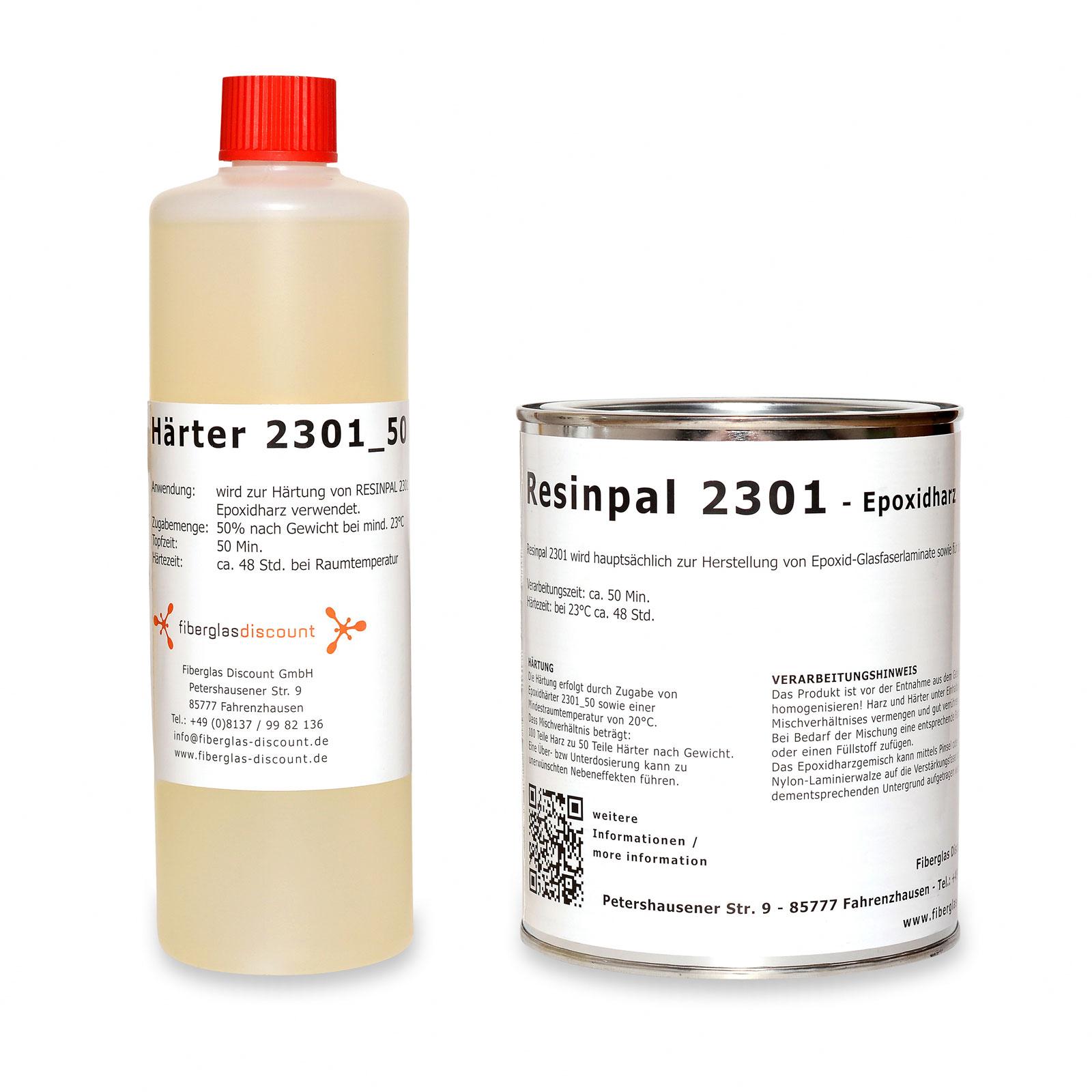 1 5 kg epoxidharz resinpal 2301 h rter epoxydharz epoxy resin epoxy ebay. Black Bedroom Furniture Sets. Home Design Ideas