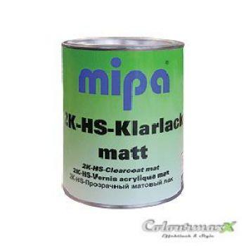 1L MIPA 2K HS Klarlack matt - VOC AUTOLACK MATT