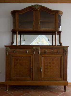 antike anrichte eiche art deco kredenz kommode sideboard. Black Bedroom Furniture Sets. Home Design Ideas