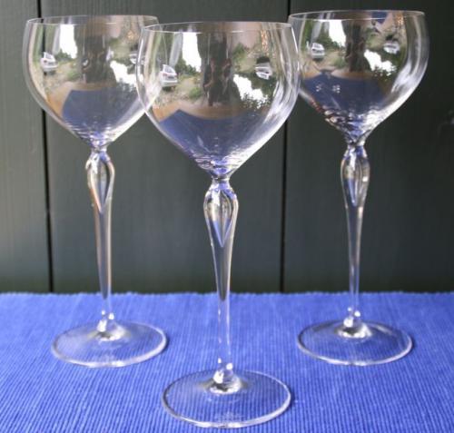 rosenthal 3 hochwertige rotweingl ser h 26cm glas. Black Bedroom Furniture Sets. Home Design Ideas