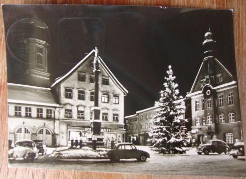 postkarte ak immenstadt allg u weihnachten foto 1959. Black Bedroom Furniture Sets. Home Design Ideas