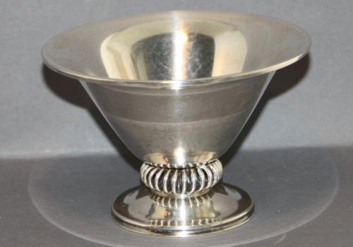 schale silberschale bauhaus zeit punze silverco kreuz mit kreis evntl englisch ebay. Black Bedroom Furniture Sets. Home Design Ideas