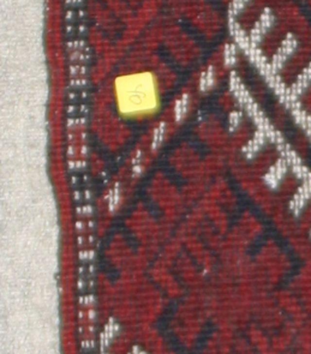 Antiker Orientteppich Buchara Turkmen Usbekistan Teppich
