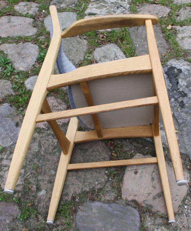armlehnstuhl skandinavisch stuhl sessel holz schreibtischstuhl d nisch d nemark ebay. Black Bedroom Furniture Sets. Home Design Ideas