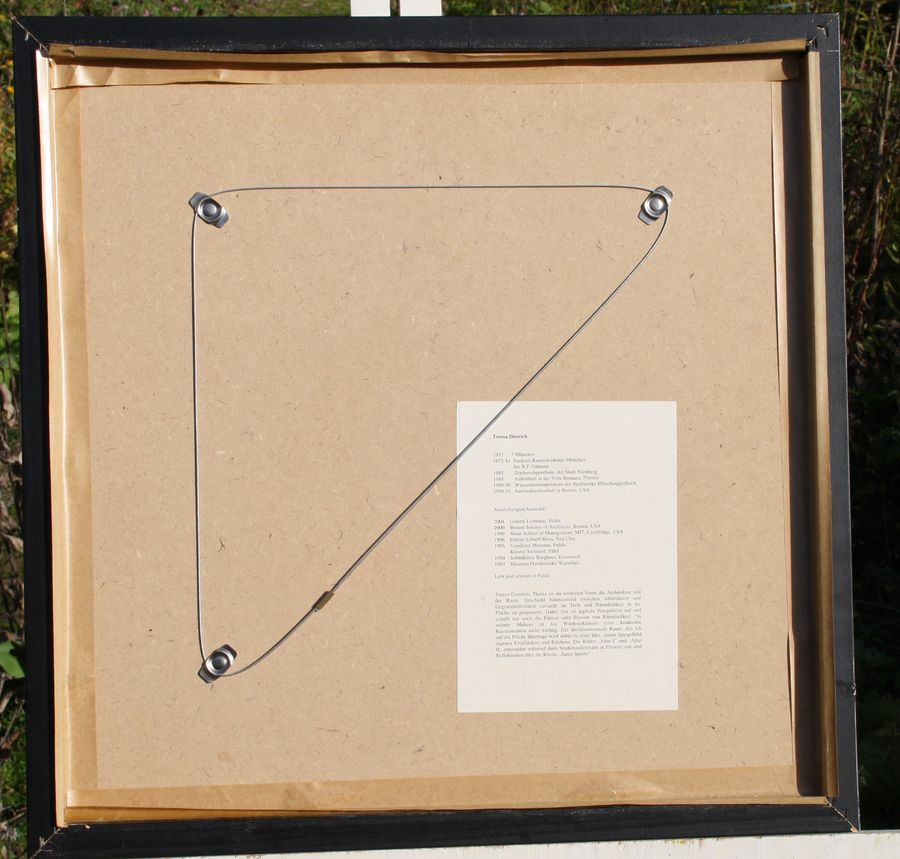 teresa dietrich m nchen fulda signiert nummeriert rahmen lithografie altar 2 ebay. Black Bedroom Furniture Sets. Home Design Ideas