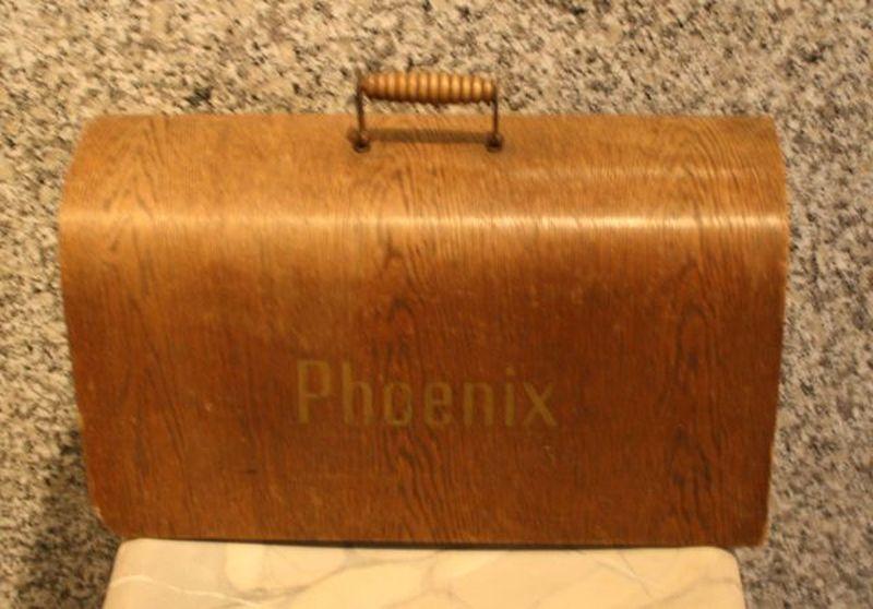 Deckel für antike Phoenix Nähmaschine Holzdeckel  -> Nähmaschine Phoenix