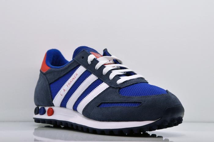 Adidas La Trainer Blau Weiß