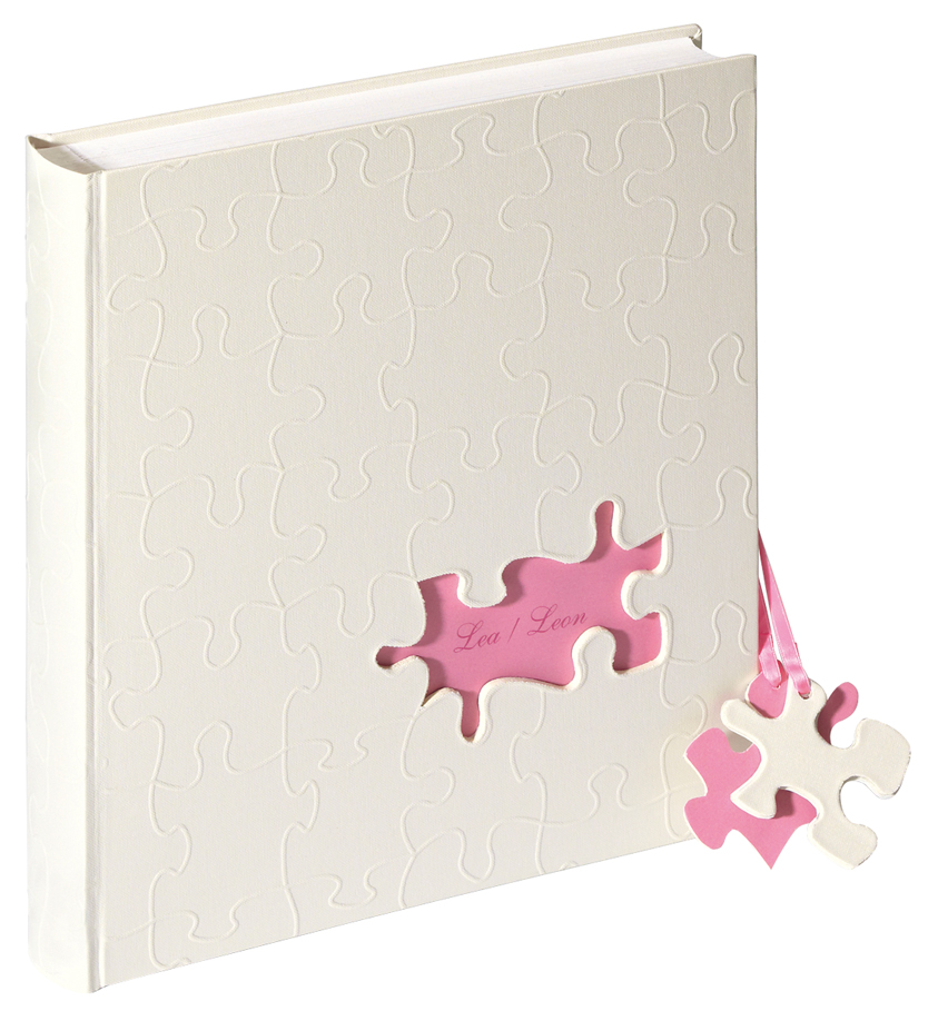 baby fotoalbum baby puzzle rosa ebay. Black Bedroom Furniture Sets. Home Design Ideas