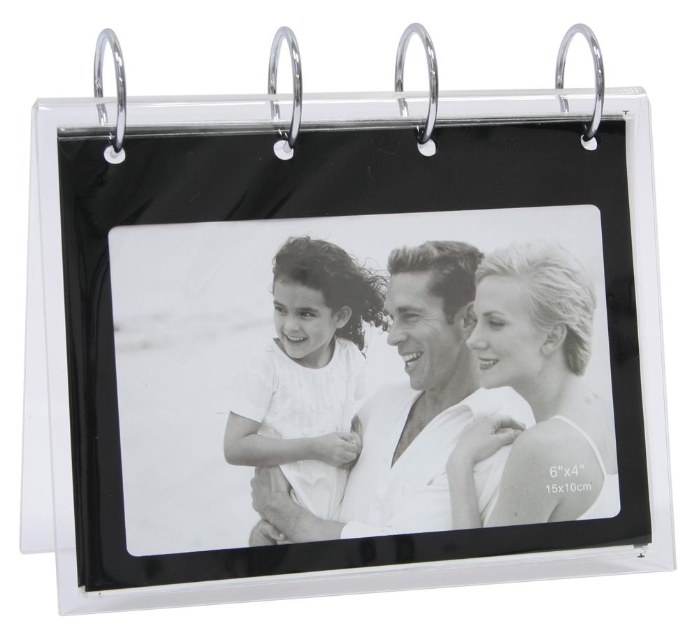 fotoringbuch zum aufstellen schwarz ebay. Black Bedroom Furniture Sets. Home Design Ideas