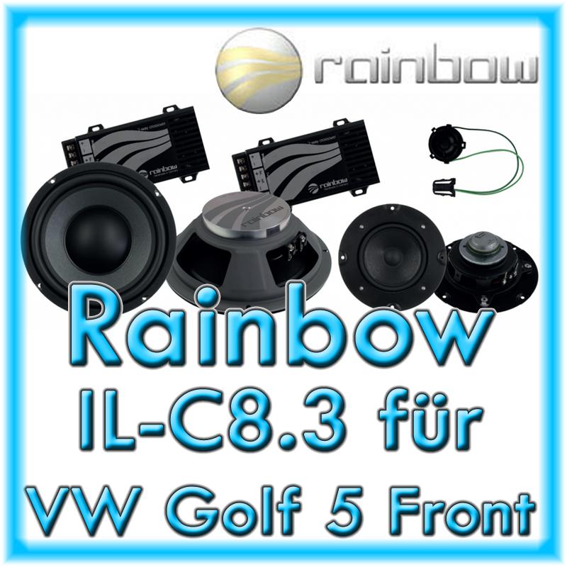 rainbow il c8 3 vw golf 5 front fahrzeugspezifische. Black Bedroom Furniture Sets. Home Design Ideas