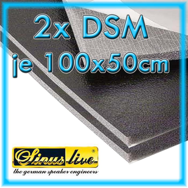 2x sinus live dsm d mmschaummatte 1000x500x11mm. Black Bedroom Furniture Sets. Home Design Ideas