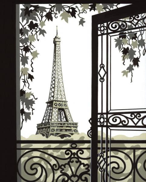 Eiffelturm paris malen nach zahlen mammut malvorlagen vorlagen motive ebay - Foto auf leinwand malen ...