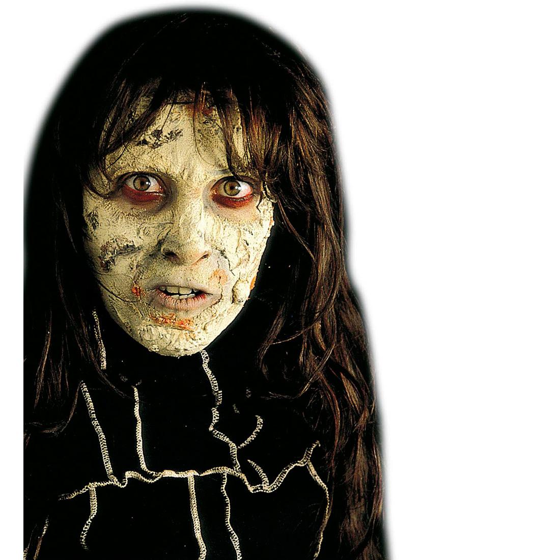 horror make up fl ssiges latex theaterschminke zombie haut schminke grau untoter ebay. Black Bedroom Furniture Sets. Home Design Ideas