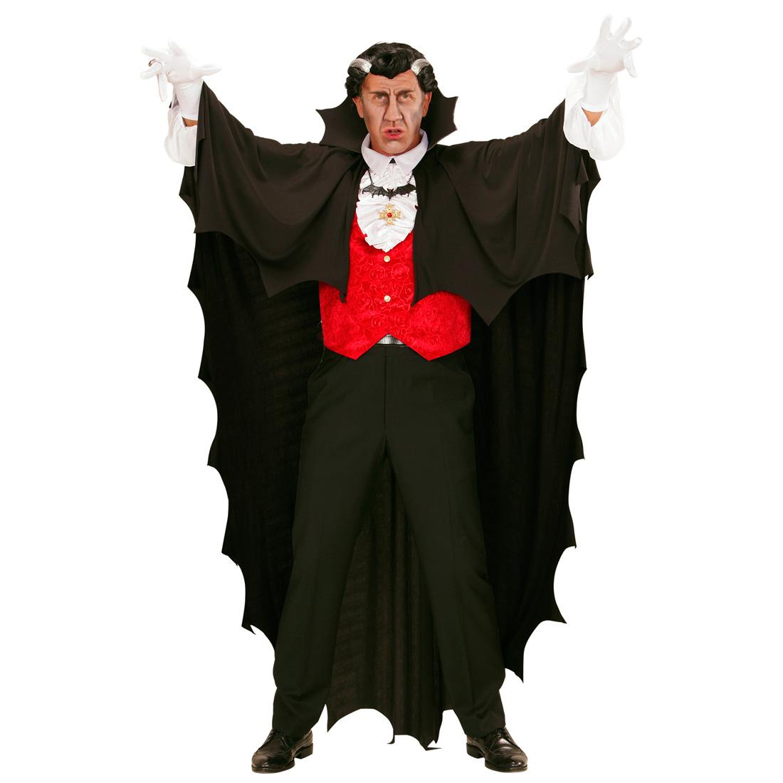halloween vampirumhang fledermaus umhang vampir gewand dracula mantel kost m ebay. Black Bedroom Furniture Sets. Home Design Ideas
