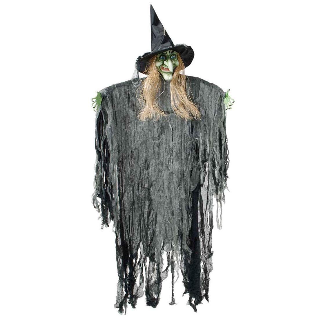 Halloween Hexe Horror Deko 170 Cm Dekofigur Hexenfigur