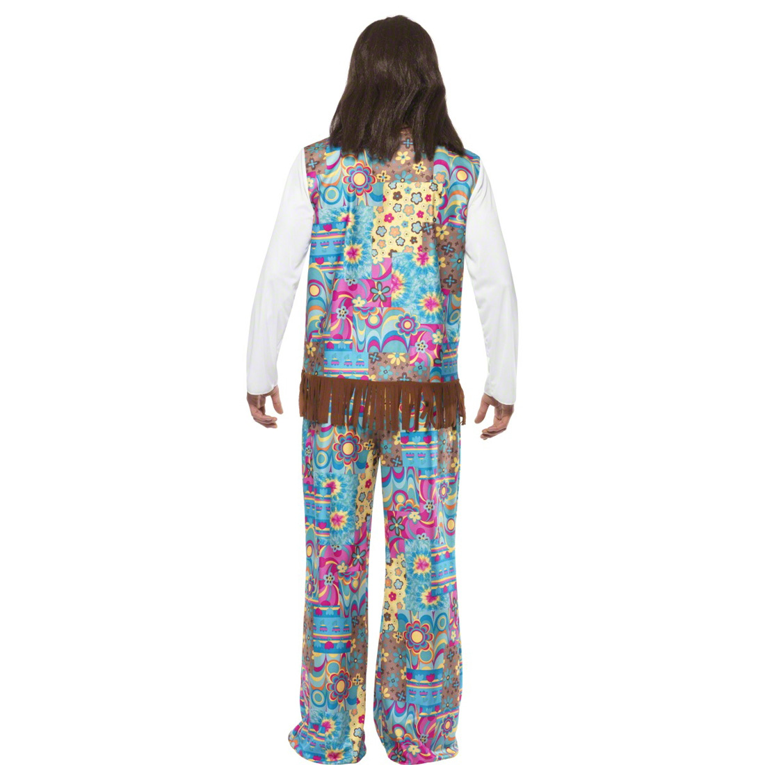 70er jahre hippie kost m herren flower power outfit hippiekost m schlagermove ebay. Black Bedroom Furniture Sets. Home Design Ideas