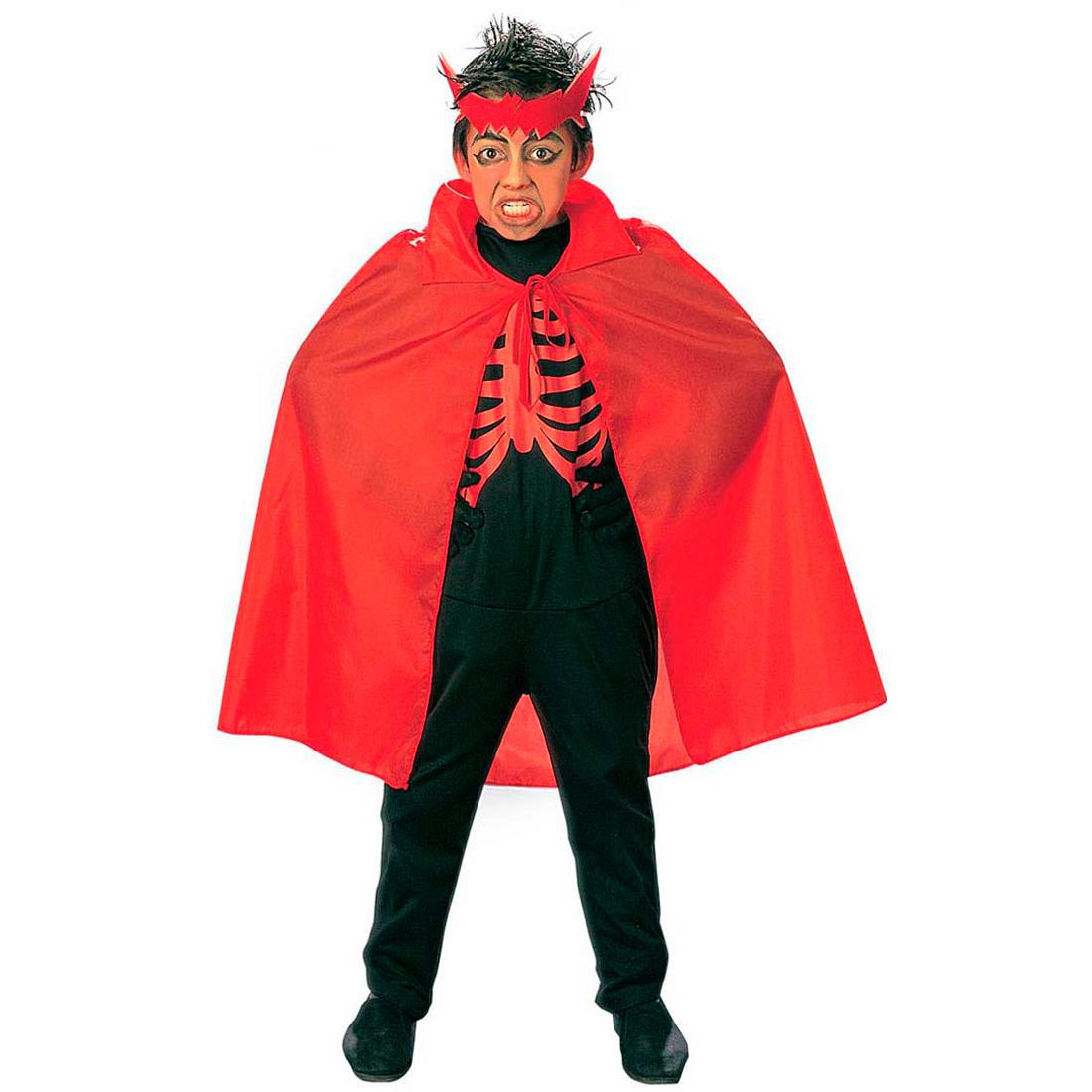 halloween cape vampir kinder vampirumhang rot kost m. Black Bedroom Furniture Sets. Home Design Ideas