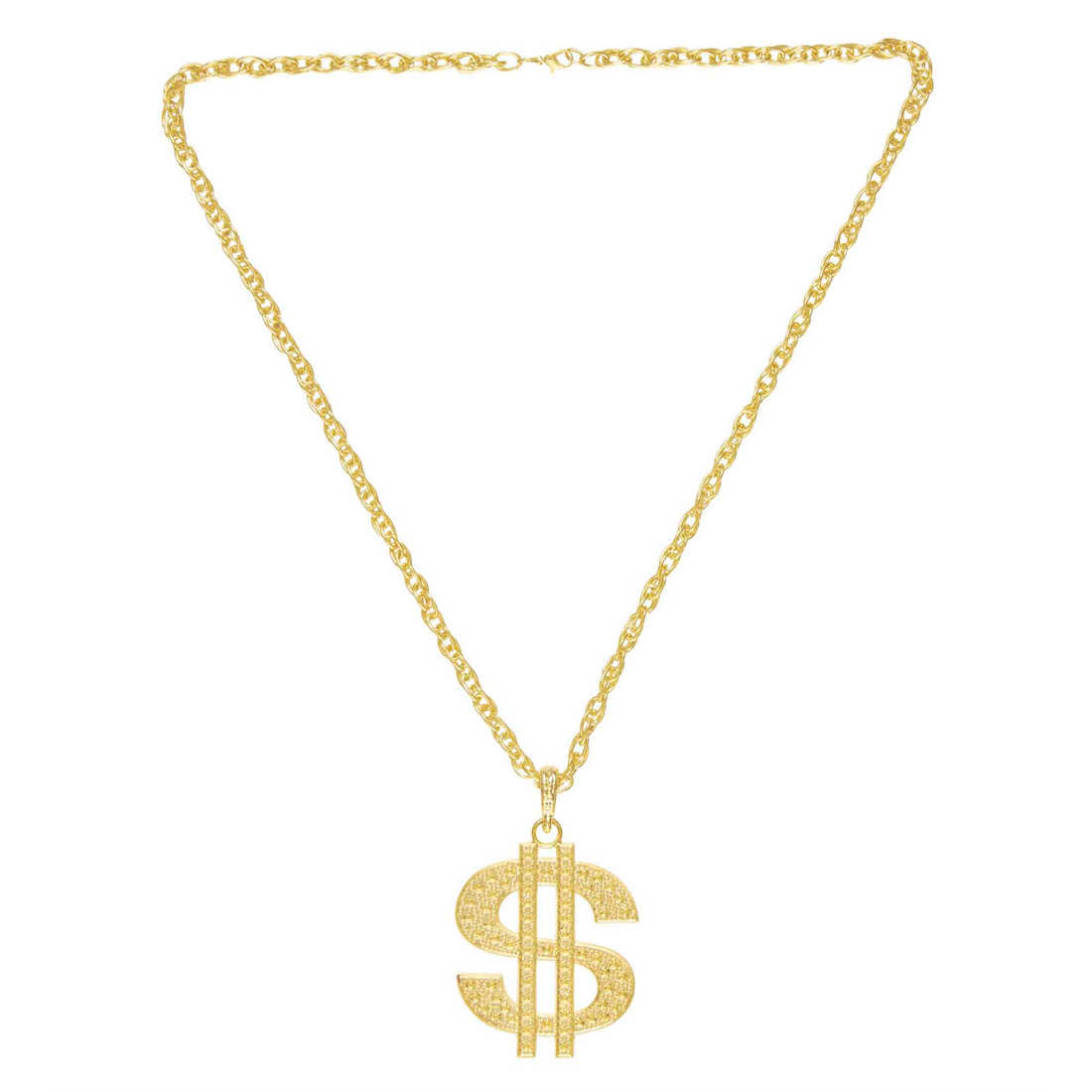 Goldkette dollar  German Trendseller® – Dollar – Kette Gold ┃ 90 cm ┃ Metall ...