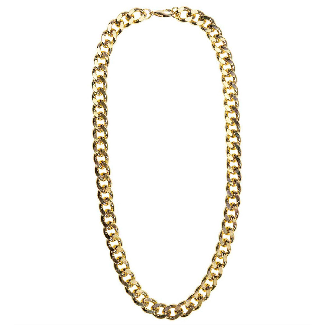 Goldkette gangster damen  Rapper Goldkette Hip Hop Gold Kette Gangster Halskette goldene ...