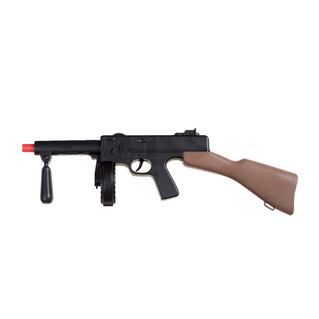 gangster maschinengewehr mit sound mafia waffe gewehr. Black Bedroom Furniture Sets. Home Design Ideas