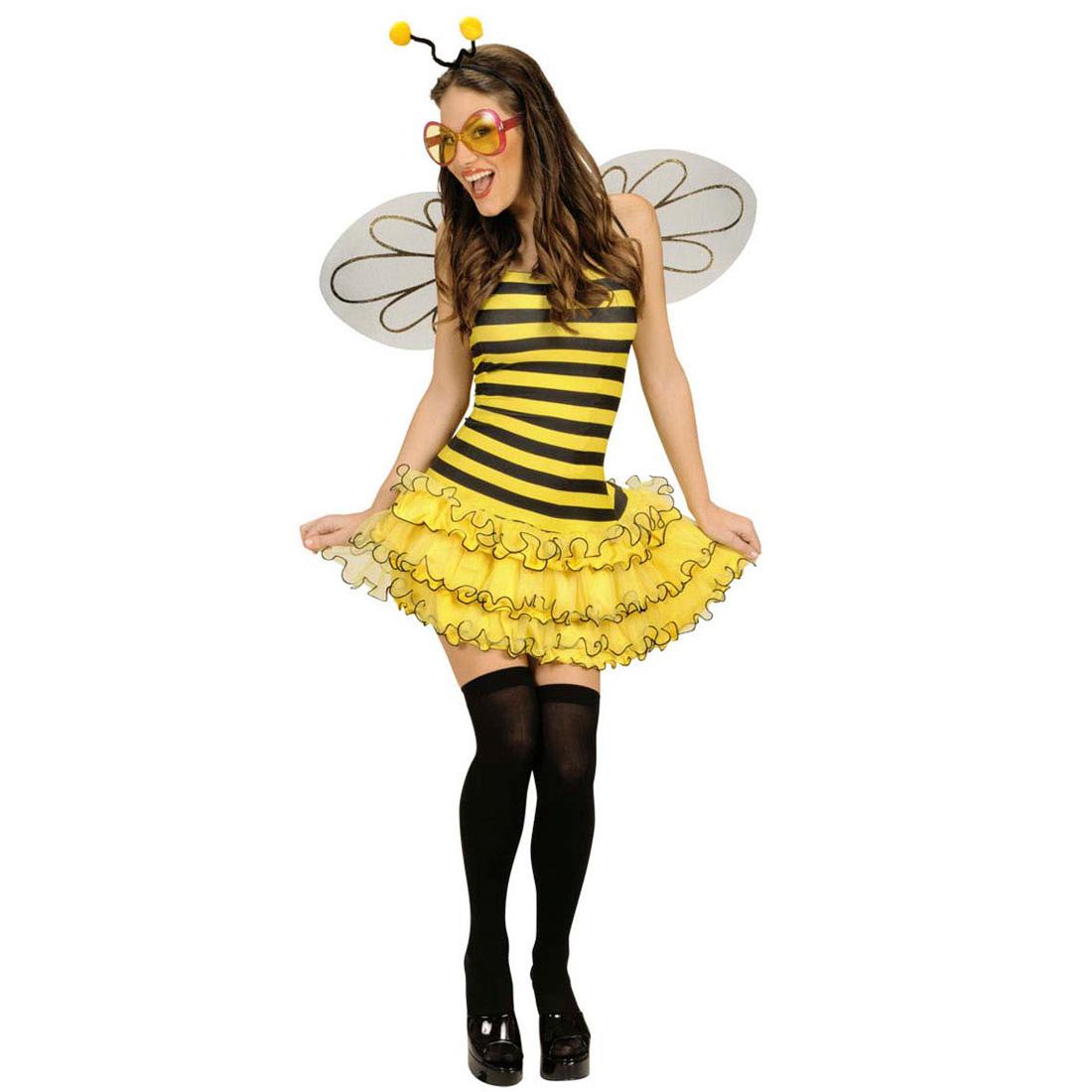 sexy biene maja kost m hummel bienenkost m damen bienen tierkost m damenkost m ebay. Black Bedroom Furniture Sets. Home Design Ideas