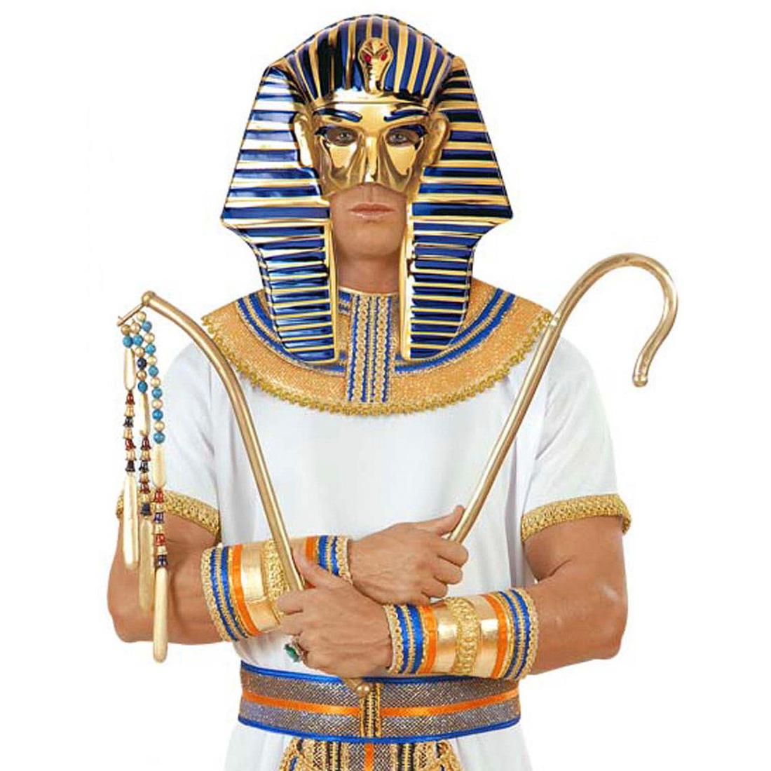 tutanchamun maske pharao pharaonenmaske gyptische pharaomaske kost mmaske ebay. Black Bedroom Furniture Sets. Home Design Ideas