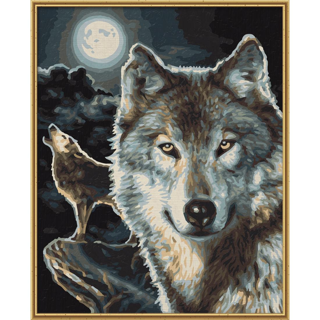malen nach zahlen wölfe schipper 24 x 30 cm tiere vorlagen