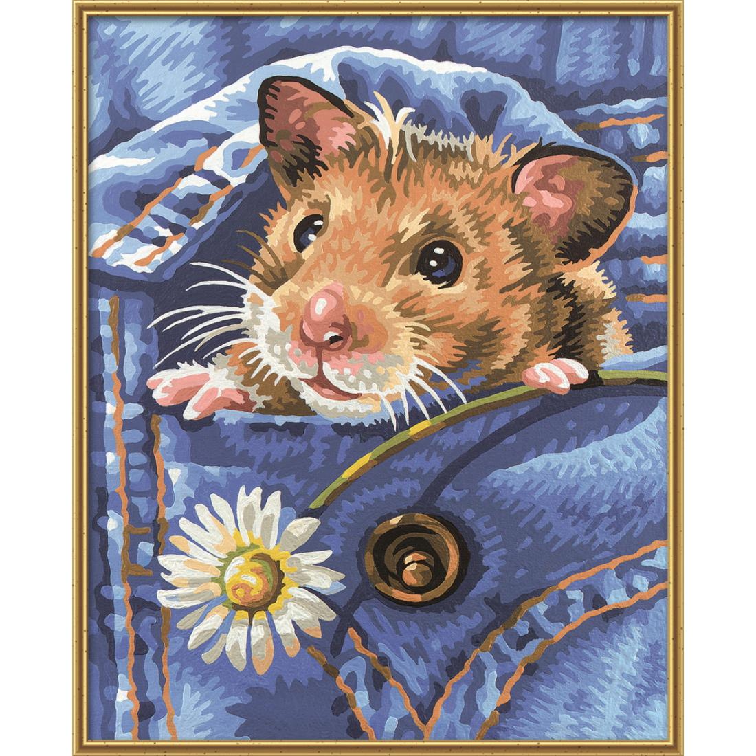 malen nach zahlen schipper f r kinder mucki der hamster malvorlage tier vorlage ebay. Black Bedroom Furniture Sets. Home Design Ideas