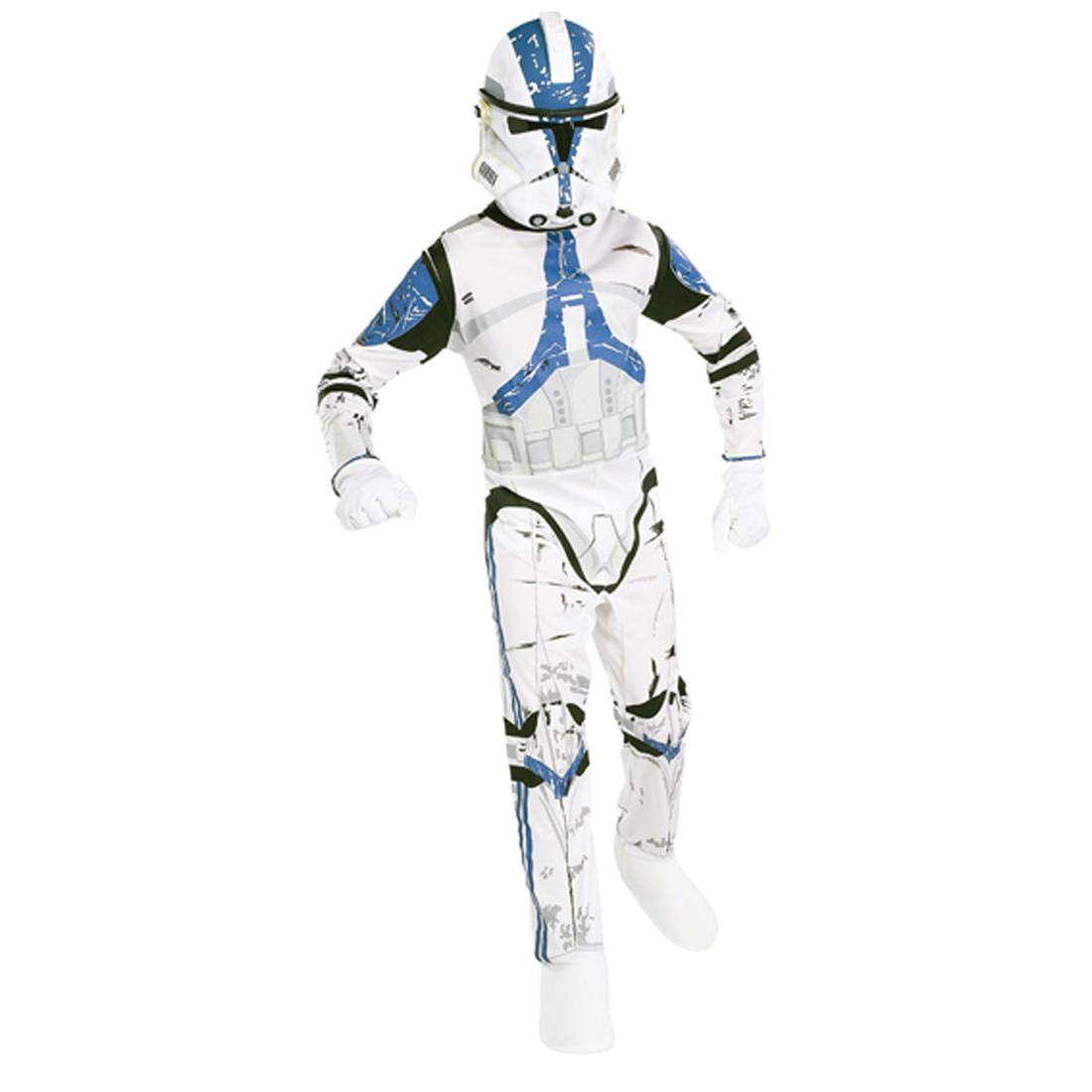 clonetrooper star wars kost m kinder karneval gr m 5 7. Black Bedroom Furniture Sets. Home Design Ideas