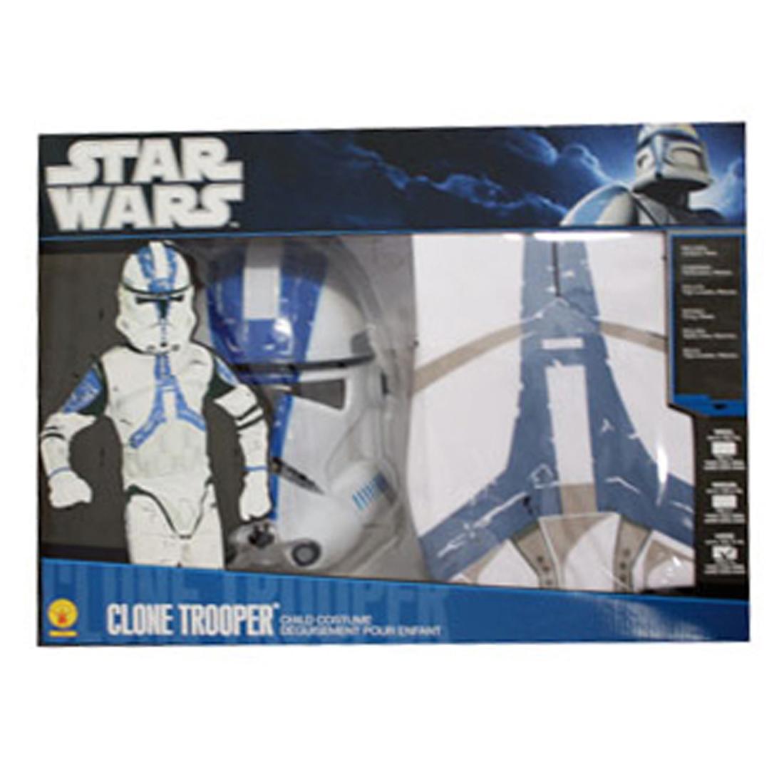 clonetrooper star wars kost m kinder karneval gr m 5 7 jahre stormtrooper outfit ebay. Black Bedroom Furniture Sets. Home Design Ideas