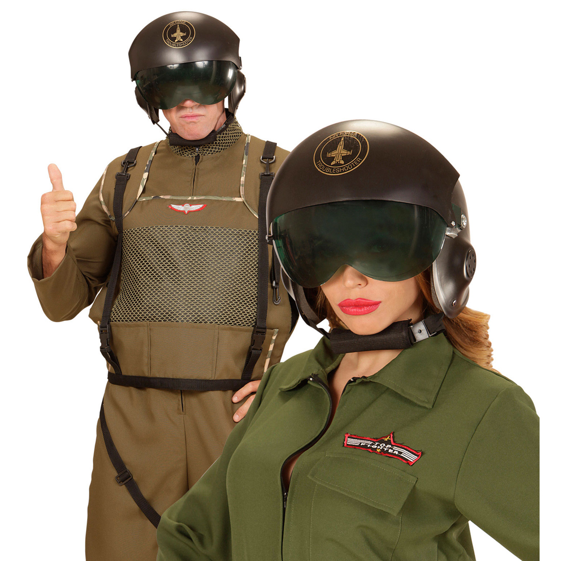 pilotenhelm mit visier top gun piloten helm jethelm. Black Bedroom Furniture Sets. Home Design Ideas