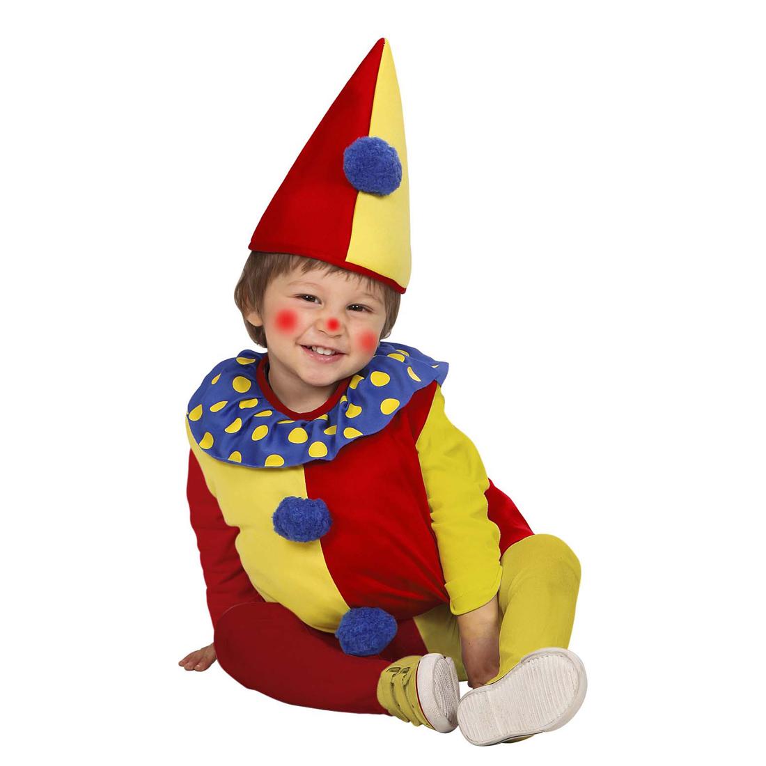 clownkost m kinder clown harlekin kost m baby clownskost m 90 104 cm 1 3 jahre ebay. Black Bedroom Furniture Sets. Home Design Ideas