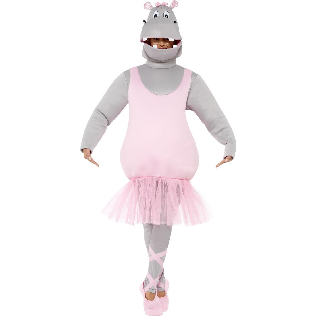 lustiges hippo nilpferd ballettkost m ballerina kost m nilpferdkost m ballett ebay. Black Bedroom Furniture Sets. Home Design Ideas