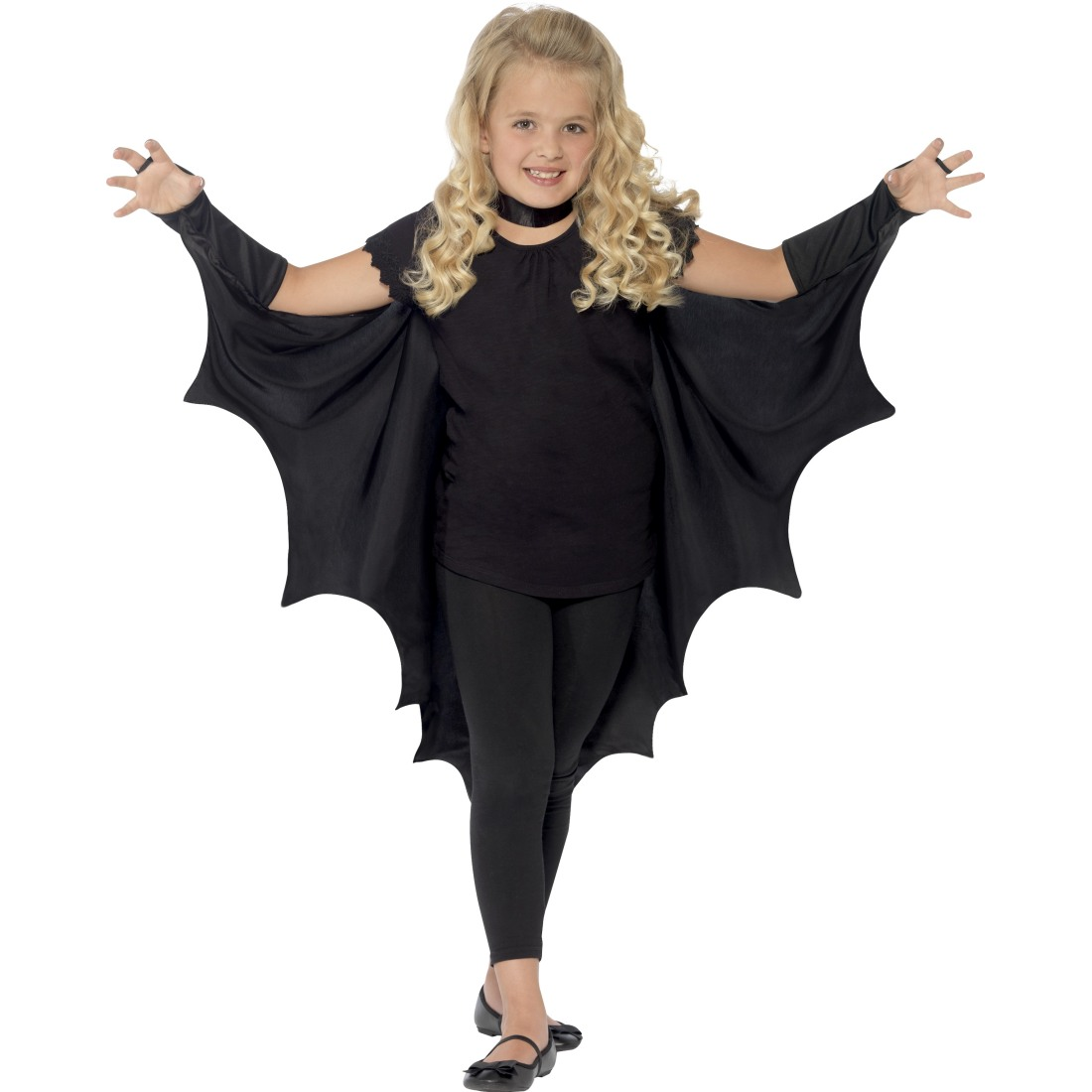 vampir fledermausfl gel umhang kinder fledermaus halloween cape kost m gewand ebay. Black Bedroom Furniture Sets. Home Design Ideas