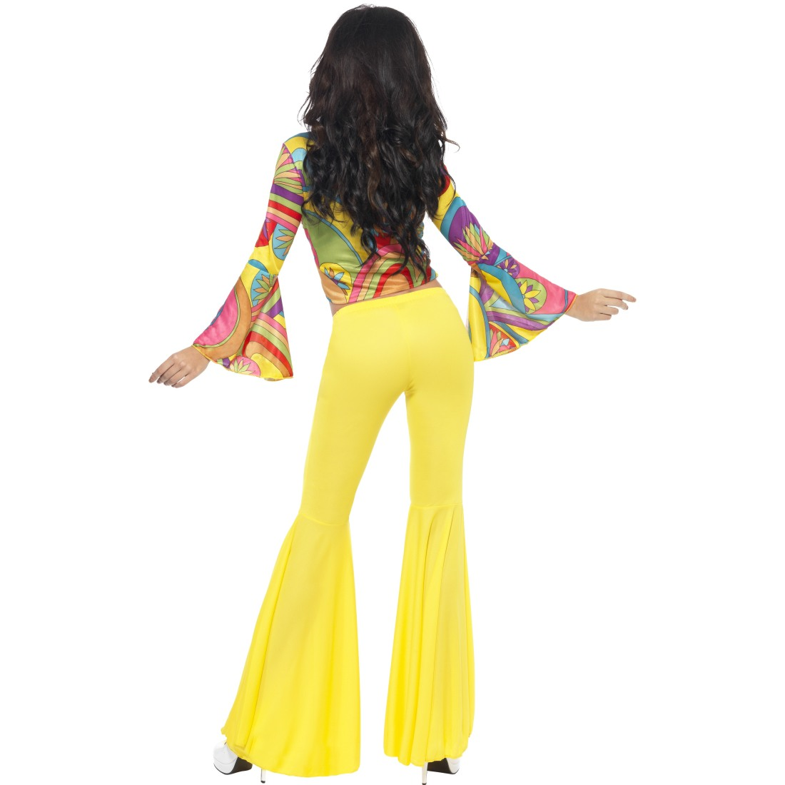 60er 70er Jahre Outfit Damen Hippie Kostu00fcm Damen Schlagermove Hippiekostu00fcm Anzug | EBay