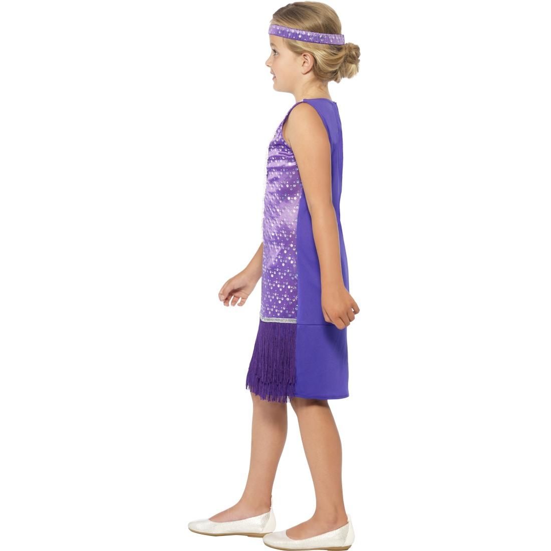 20er jahre kost m kinder charleston kleid mit haarband. Black Bedroom Furniture Sets. Home Design Ideas